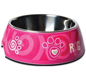 Miska ROGZ Bubble Pink Paw S (160ml)