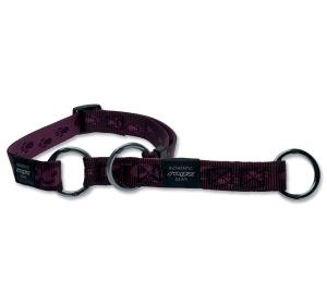 Obojek ROGZ Alpinist polostahovací fialový L