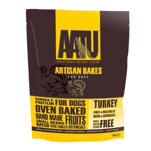AATU Dog Artisan BakesTurkey 150g