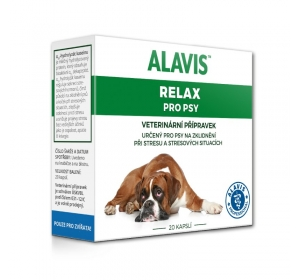 Alavis Relax pro psy 150mg 20cps