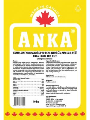 Anka Lamb&Rice 10 kg