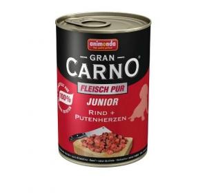 Animonda GranCarno dog konz. Junior- hov.,kr.srdce 400 g