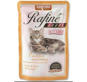 Animonda Rafiné Soupé cat kaps.Junior  krů,srd,mrk 100 g