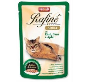Animonda Rafiné Soupé cat kaps. - hovězí, husa, jablko 100 g