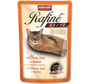 Animonda Rafiné Soupé cat kaps. - kuře,kachna,těst 100 g