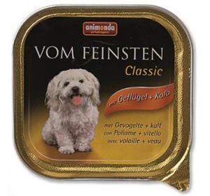 Animonda VomFeinsten Clas. dog van. - drůb., tele. 150 g