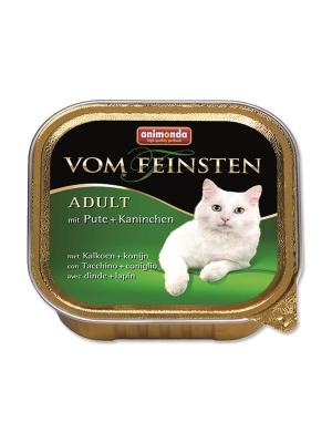 Animonda VomFeinsten Clas. cat van.-krůta, králík 100 g