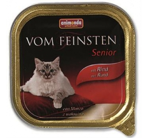 Animonda VomFeinsten cat van. Senior - hovězí 100 g