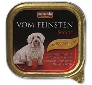 Animonda VomFeinsten dog van.Senior -drůbež, jehně 150 g