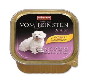 Animonda VomFeinsten dog van.Junior - drůbež,srdce 150 g