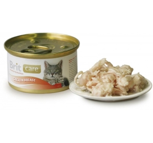 Brit Care Cat konz. - Chicken Breast 80g