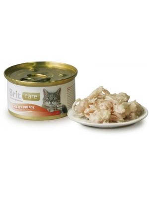 Brit Care Cat konz. - Chicken Breast 80g