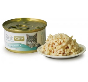 Brit Care Cat konz. Kitten - Chicken 80g