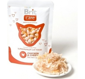Brit Care Cat kaps. - Chicken & Cheese 80g