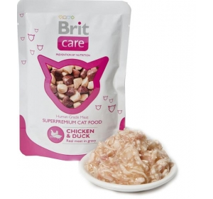 Brit Care Cat kaps. - Chicken & Duck 80g