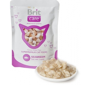 Brit Care Cat kaps. - Seabream 80g
