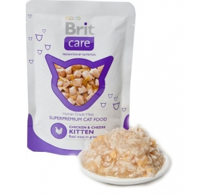 Brit Care Cat kaps. Kitten - Chicken & Cheese 80g