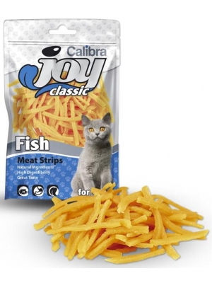 Calibra Cat Joy Classic Fish Strips 70g