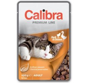 Calibra Cat kaps. Premium Adult Duck & Chicken 100 g