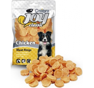 Calibra Dog Joy Classic Chicken Rings 80g