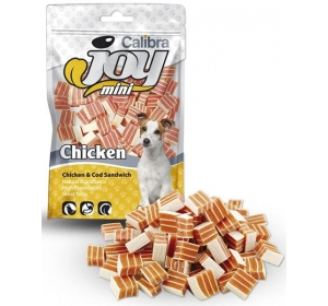 Calibra Dog Joy Mini Chicken & Cod Sandwich 70g