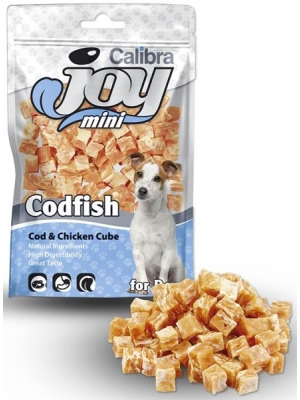 Calibra Dog Joy Mini Cod & Chicken Cube 70g