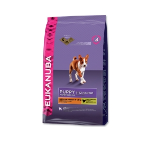 Eukanuba Puppy Junior Medium Breed 15 kg