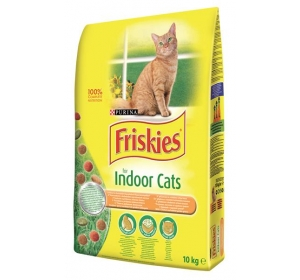 Friskies cat dry Indoor - kuře 10kg