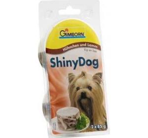 Gimborn Shiny dog konz. - kuře, jehně 2 x 85 g