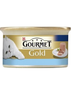 Gourmet Gold cat konz.-jemná paštika tuňák 85 g