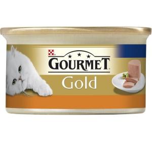 Gourmet Gold cat konz.-paštika s krůtou 85 g