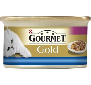 Gourmet Gold cat konz.-duš. k. mořské ryby 85 g