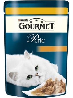 Gourmet Perle cat kaps.-kuře 85 g