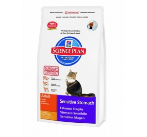 Hill's Feline Adult Sensitive Stomach 5kg