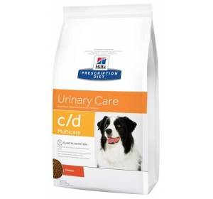 Hill's Canine C/D Dry Multicare 12kg