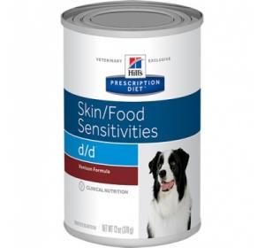 Hill's Canine D/D konzerva Venison formula 370g
