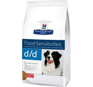 Hill's Canine D/D Dry - Salmon+Rice 12kg