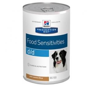 Hill's Canine D/D konzerva Lamb+Rice 370g