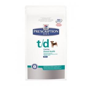 Hill's Canine T/D Dry Mini 3kg Výprodej expirace 1/2017