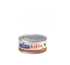 Hill's Feline K/D konzerva - hrubě mletá 156g