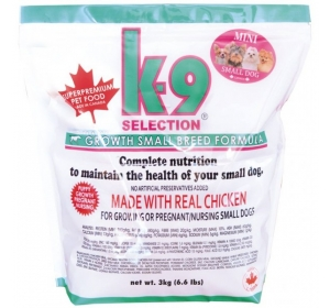 K-9 Growth Formula Small Breed 1kg