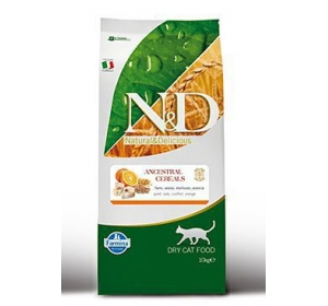 N&D Low Grain CAT Adult Codfish & Orange 5kg