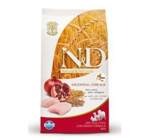 N&D Low Grain DOG Adult Maxi Chicken & Pomegranate 12kg