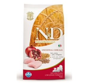 N&D Low Grain DOG Puppy Chicken & Pomegranate 800g