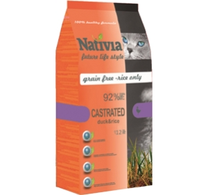 Nativia Cat Castrated 10kg