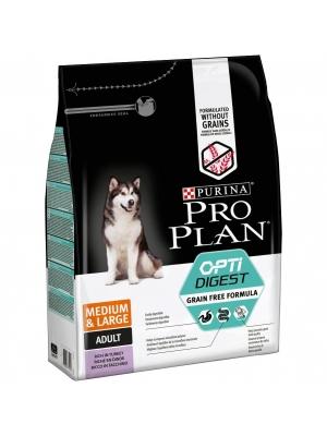 Purina PRO PLAN Dog Adult Medium&Large Grain Free krůta 2,5 kg