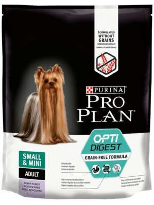 Purina PRO PLAN Dog Adult Small&Mini Grain Free krůta 700 g
