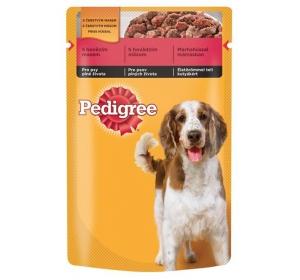 Pedigree kaps. Adult - hovězí v želé 100 g Výprodej expirace 1/2017