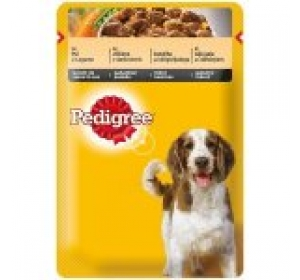 Pedigree kaps. Adult - kuře, zel. 100 g
