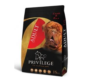 Privilege Dog Adult Large Breeds Lamb 15kg